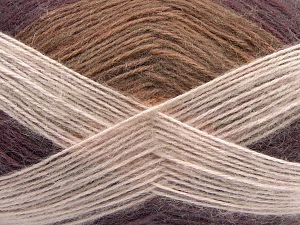 Fiber Content 50% Acrylic, 32% Wool, 18% Angora, Powder Pink, Maroon, Brand Ice Yarns, Beige, fnt2-68350