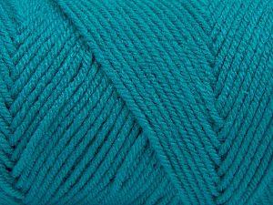 Fiber Content 100% Dralon Acrylic, Turquoise, Brand Ice Yarns, fnt2-68354