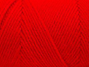 Fiber Content 100% Dralon Acrylic, Red, Brand Ice Yarns, fnt2-68355