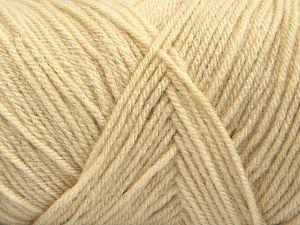 Fiber Content 100% Dralon Acrylic, Brand Ice Yarns, Cream, fnt2-68357