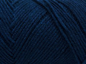 Items made with this yarn are machine washable & dryable. Fiber Content 100% Dralon Acrylic, Navy, Brand Ice Yarns, fnt2-68362