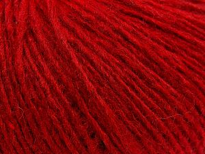 Fiber Content 60% Acrylic, 40% Wool, Brand Ice Yarns, Dark Red, fnt2-68369