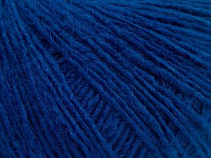 Fiber Content 95% Acrylic, 5% Elastan, Saxe Blue, Brand Ice Yarns, fnt2-68390