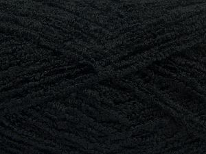 Huge Boucle  Fiber Content 60% Acrylic, 20% Polyester, 20% Wool, Brand Ice Yarns, Black, fnt2-68416