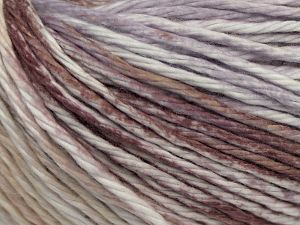 Fiber Content 100% Cotton, White, Lilac, Brand Ice Yarns, Brown, Beige, fnt2-68418