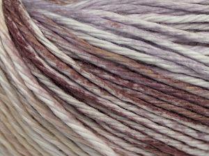 İçerik 100% Pamuk, White, Lilac, Brand Ice Yarns, Brown, Beige, fnt2-68418