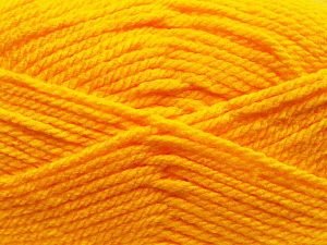 Bulky  Fiber Content 100% Acrylic, Yellow, Brand Ice Yarns, fnt2-68433