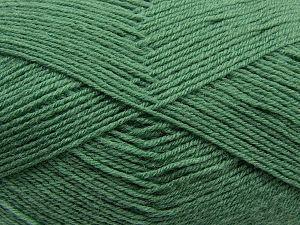 Fiber Content 60% Merino Wool, 40% Acrylic, Light Green, Brand Ice Yarns, fnt2-68440
