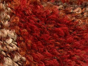Fiber Content 60% Acrylic, 20% Nylon, 20% Wool, Red, Brand Ice Yarns, Brown Shades, fnt2-68449