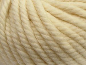 Fiber Content 100% Wool, Light Cream, Brand Ice Yarns, fnt2-68458