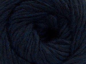 Fiber Content 50% Acrylic, 50% Wool, Brand Ice Yarns, Dark Navy, fnt2-68460