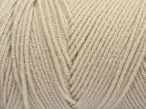 Items made with this yarn are machine washable & dryable. Fiber Content 100% Dralon Acrylic, Light Beige, Brand Ice Yarns, fnt2-68466