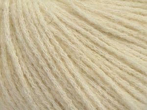 Fiber Content 36% Polyamide, 31% Extrafine Merino Wool, 30% Baby Alpaca, 3% Elastan, Brand Ice Yarns, Ecru, fnt2-68469