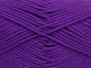 Bulky  Fiber Content 100% Acrylic, Purple, Brand Ice Yarns, fnt2-68494