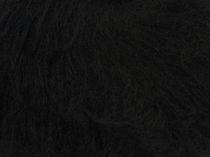 Fiber Content 65% Acrylic, 20% Wool, 15% Polyamide, Brand Ice Yarns, Black, fnt2-68496
