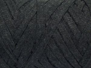 Fiber Content 100% Recycled Cotton, Brand Ice Yarns, Anthracite Black, fnt2-68504