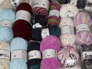 Fancy Yarns In this list; you see most recent 50 mixed lots. <br> To see all <a href=&/mixed_lots/o/4#list&>CLICK HERE</a> (Old ones have much better deals)<hr> Brand Ice Yarns, fnt2-68508