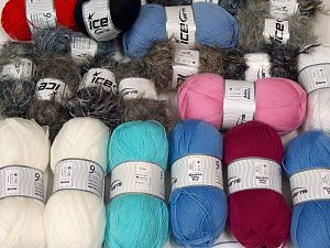 Fancy Yarns In this list; you see most recent 50 mixed lots. <br> To see all <a href=&/mixed_lots/o/4#list&>CLICK HERE</a> (Old ones have much better deals)<hr> Brand Ice Yarns, fnt2-68509
