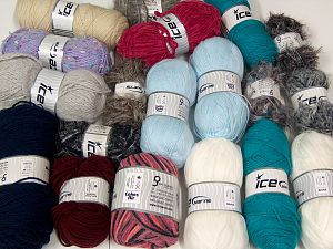 Fancy Yarns In this list; you see most recent 50 mixed lots. <br> To see all <a href=&/mixed_lots/o/4#list&>CLICK HERE</a> (Old ones have much better deals)<hr> Brand Ice Yarns, fnt2-68511