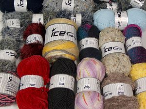 Fancy Yarns In this list; you see most recent 50 mixed lots. <br> To see all <a href=&/mixed_lots/o/4#list&>CLICK HERE</a> (Old ones have much better deals)<hr> Brand Ice Yarns, fnt2-68513