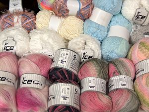 Fancy Yarns In this list; you see most recent 50 mixed lots. <br> To see all <a href=&/mixed_lots/o/4#list&>CLICK HERE</a> (Old ones have much better deals)<hr> Brand Ice Yarns, fnt2-68515