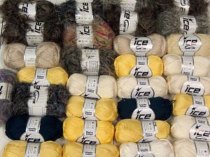 Fancy Yarns In this list; you see most recent 50 mixed lots. <br> To see all <a href=&/mixed_lots/o/4#list&>CLICK HERE</a> (Old ones have much better deals)<hr> Brand Ice Yarns, fnt2-68520
