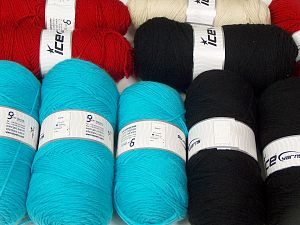 Plain Yarns In this list; you see most recent 50 mixed lots. <br> To see all <a href=&/mixed_lots/o/4#list&>CLICK HERE</a> (Old ones have much better deals)<hr> Fiber Content 100% Dralon Acrylic, Brand Ice Yarns, fnt2-68529