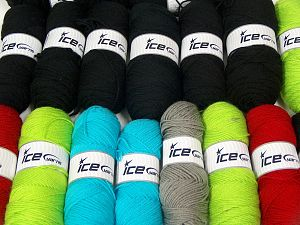 Plain Yarns In this list; you see most recent 50 mixed lots. <br> To see all <a href=&/mixed_lots/o/4#list&>CLICK HERE</a> (Old ones have much better deals)<hr> Fiber Content 100% Dralon Acrylic, Brand Ice Yarns, fnt2-68532