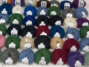Luxury Yarns In this list; you see most recent 50 mixed lots. <br> To see all <a href=&/mixed_lots/o/4#list&>CLICK HERE</a> (Old ones have much better deals)<hr> Brand Ice Yarns, fnt2-68536