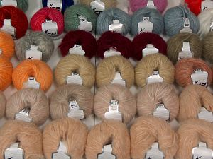 Fleecy Wool Yarns In this list; you see most recent 50 mixed lots. <br> To see all <a href=&/mixed_lots/o/4#list&>CLICK HERE</a> (Old ones have much better deals)<hr> Fiber Content 55% Acrylic, 23% Nylon, 22% Wool, Brand Ice Yarns, fnt2-68547