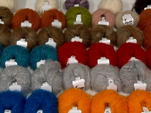 Kan Mohair Yarns In this list; you see most recent 50 mixed lots. <br> To see all <a href=&/mixed_lots/o/4#list&>CLICK HERE</a> (Old ones have much better deals)<hr> Fiber Content 45% Acrylic, 25% Wool, 20% Mohair, 10% Polyamide, Brand Ice Yarns, fnt2-68548