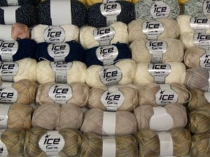 Cashmere Types, Cotton Types, Fancy Types In this list; you see most recent 50 mixed lots. <br> To see all <a href=&/mixed_lots/o/4#list&>CLICK HERE</a> (Old ones have much better deals)<hr> Brand Ice Yarns, fnt2-68555