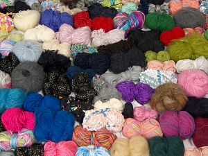 Leftover Yarns In this list; you see most recent 50 mixed lots. <br> To see all <a href=&/mixed_lots/o/4#list&>CLICK HERE</a> (Old ones have much better deals)<hr> Brand Ice Yarns, fnt2-68558