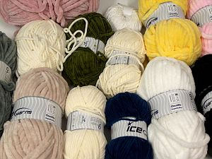 Chenille Types In this list; you see most recent 50 mixed lots. <br> To see all <a href=&/mixed_lots/o/4#list&>CLICK HERE</a> (Old ones have much better deals)<hr> Fiber Content 100% Micro Fiber, Brand Ice Yarns, fnt2-68560