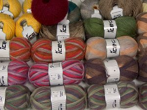 Angora Types and Fancy Yarns In this list; you see most recent 50 mixed lots. <br> To see all <a href=&/mixed_lots/o/4#list&>CLICK HERE</a> (Old ones have much better deals)<hr> Brand Ice Yarns, fnt2-68562