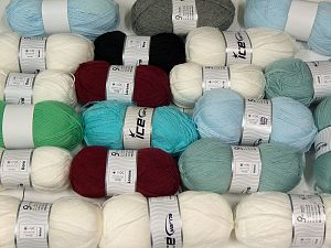 Acrylic Types In this list; you see most recent 50 mixed lots. <br> To see all <a href=&/mixed_lots/o/4#list&>CLICK HERE</a> (Old ones have much better deals)<hr> Brand Ice Yarns, fnt2-68563