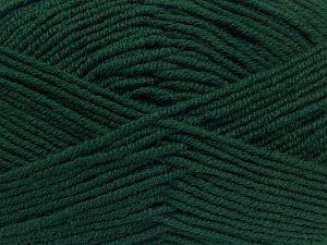 Fiber Content 60% Merino Wool, 40% Acrylic, Brand Ice Yarns, Dark Green, fnt2-68570