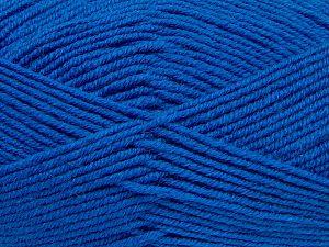 Fiber Content 60% Merino Wool, 40% Acrylic, Brand Ice Yarns, Blue, fnt2-68571