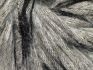 Fiber Content 75% Acrylic, 25% Nylon, Brand Ice Yarns, Grey Shades, Black, fnt2-68576