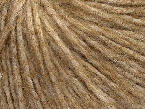 Fiber Content 40% Acrylic, 30% Wool, 20% Viscose, 10% Nylon, Brand Ice Yarns, Camel Shades, fnt2-68594