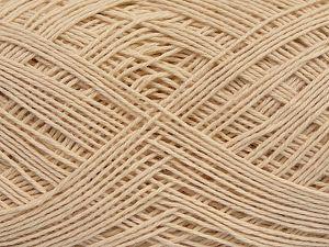 Fiber Content 100% Cotton, Brand Ice Yarns, Cream, fnt2-68604