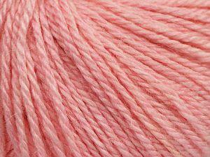 Fiber Content 8% Viscose, 54% Acrylic, 20% Wool, 18% Alpaca, Brand Ice Yarns, Baby Pink, fnt2-68622