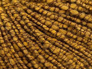Fiber Content 50% Acrylic, 20% Wool, 15% Viscose, 15% Alpaca, Brand Ice Yarns, Gold, fnt2-68809