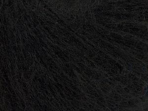 Fiber Content 65% Acrylic, 3% Elastan, 17% Wool, 15% Polyamide, Brand Ice Yarns, Black, fnt2-68851