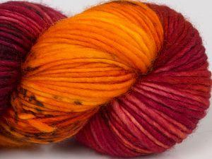 Fiber Content 100% Superwash Merino Wool, Orange, Navy, Brand Ice Yarns, Green, Burgundy, Brown, fnt2-68880