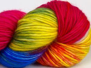 Fiber Content 100% Superwash Merino Wool, Rainbow, Brand Ice Yarns, fnt2-68881