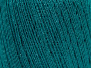 Fiber Content 50% Viscose, 50% Linen, Brand Ice Yarns, Emerald Green, fnt2-68889