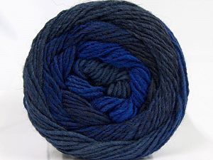 İçerik 55% Akrilik, 25% Yün, 20% Alpaka, Purple, Brand Ice Yarns, Blue, Black, fnt2-68917