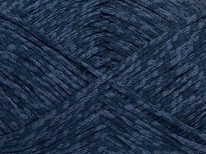 Fiber Content 72% Cotton, 28% Polyamide, Navy, Light Lilac, Brand Ice Yarns, fnt2-68970