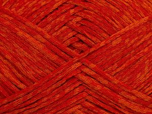 Fiber Content 72% Cotton, 28% Polyamide, Orange Shades, Brand Ice Yarns, fnt2-68973
